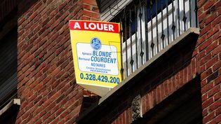 Un logement est à louer. (MAXPPP)