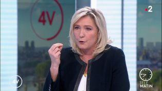 Marine Le Pen (France 2)