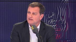 Louis Aliot, député du Rassemblement national des Pyrénées-Orientales, invité de franceinfo le 6 mars 2019. (FRANCEINFO / RADIOFRANCE)