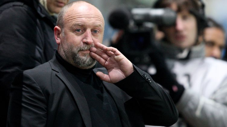 Franck Dumas, ancien entraîneur de Caen. (KENZO TRIBOUILLARD / AFP)