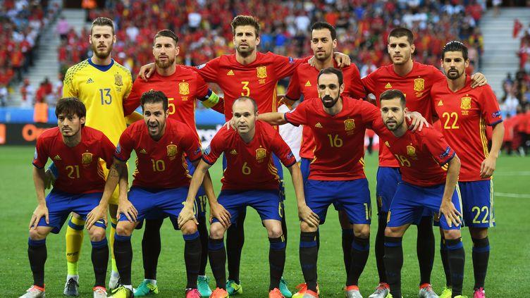 La Roja de l'Euro 2016 (ANDREW SURMA / NURPHOTO)