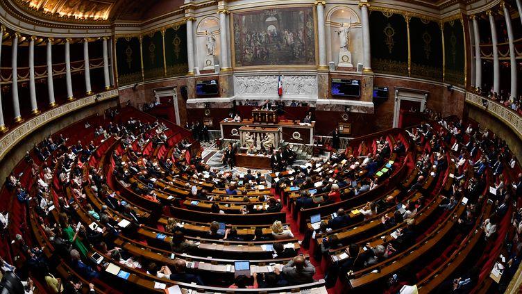 L' Assemblée nationale à Paris, le 1er août 2018. (GERARD JULIEN / AFP)
