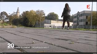 Olivia, 18 ans, a été victime de harcèlement scolaire lorsqu'elle était élève au collège. (FRANCE 2)