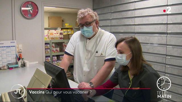 vaccination doc, pharmacien et veto