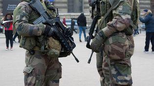 Une patrouille de l'opération Sentinelle. (MAXPPP)