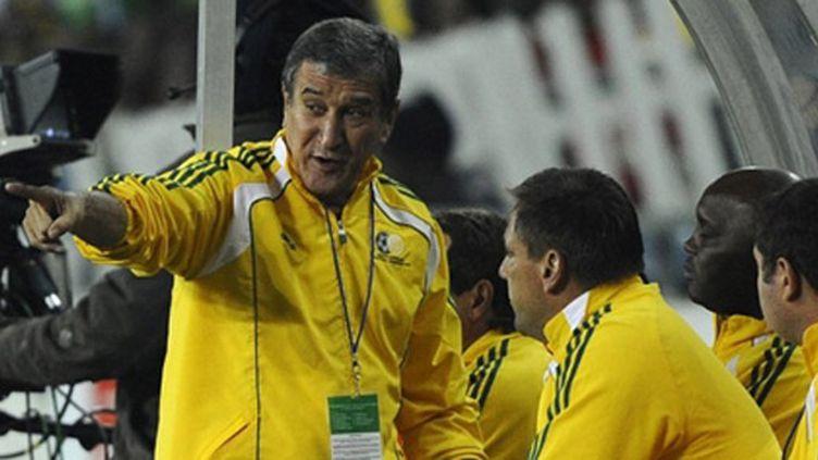 Carlos Pareira, le sélectionneur de l'Afrique du Sud