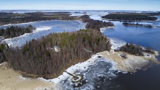 Le détroit de Kvarken en Finlande est classé au patrimoine mondial de l'Unesco. (OLIVIER MORIN / AFP)