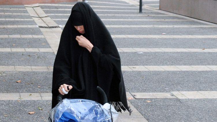 (Souad Merah, la soeur de Mohamed Merah  © AFP/PASCAL PAVANI)