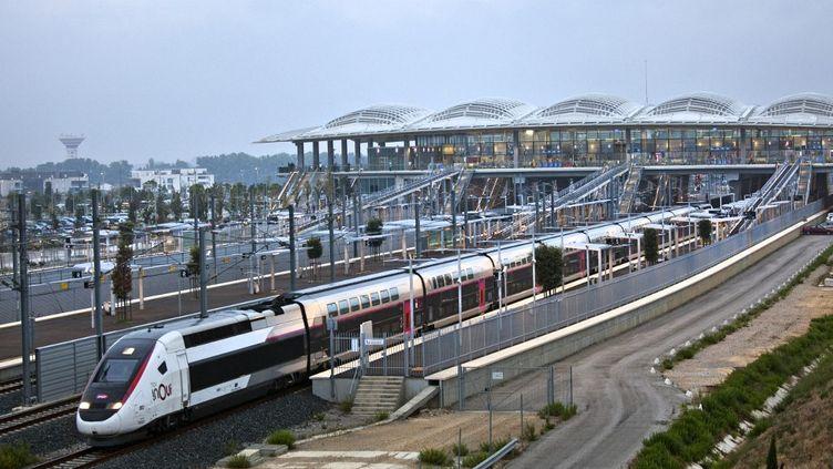 La gare TGVde Montpellier-Sud-de-France. (PHILIPPE ROY / PHILIPPE ROY)