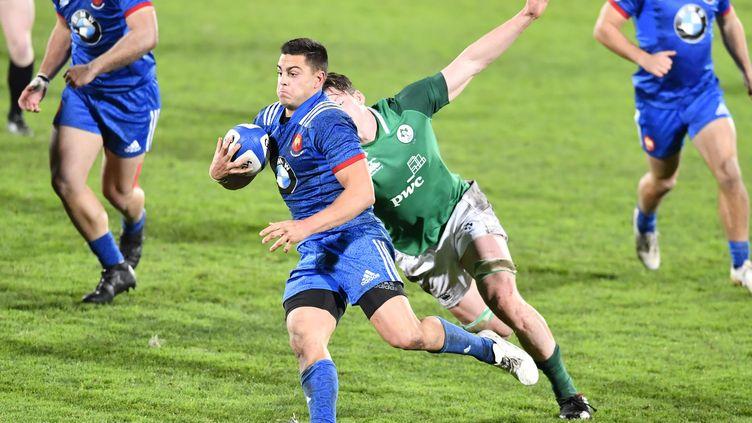 Le jeune joueur français Arthur Vincent (NICOLAS TUCAT / AFP)