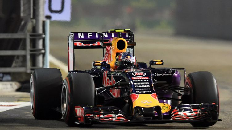 Le Russe Daniil Kvyat au volant de sa Red-Bull (ROSLAN RAHMAN / AFP)