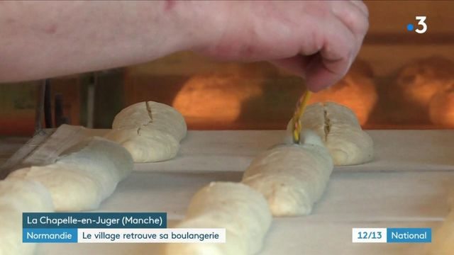 Normandie : un village retrouve sa boulangerie
