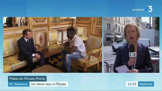 Mamoudou Gassama : recevoir à l'Élysée, un coup de communication pour Emmanuel Macron