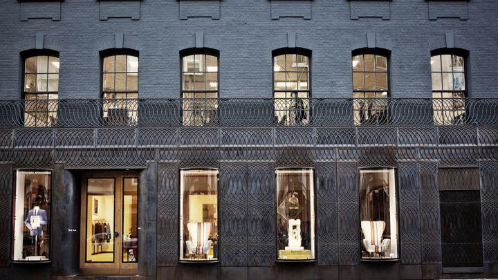 La facade de la boutique Mayfair de Paul Smith, à Londres  (Paul Smith)