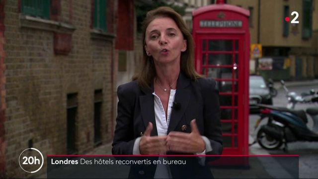 Londres : des hôtels louent leurs chambres à la journée pour le télétravail