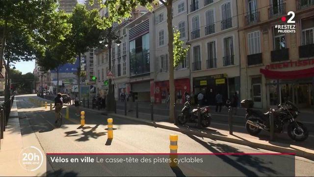 Mobilité : les villes face au casse-tête des pistes cyclables