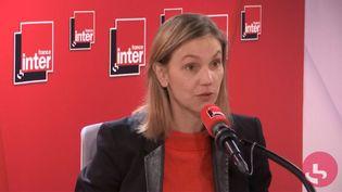 Agnès Pannier-Runacher, mardi 31 décembre 2019. (FRANCE INTER / RADIO FRANCE)