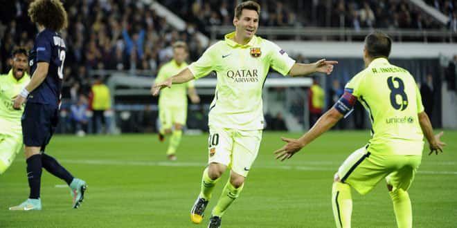Lionel Messi, buteur une nouvelle fois avec le Barca
