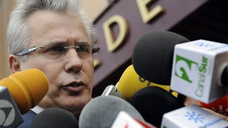 Le juge Baltasar Garzon (AFP Cristina Quicler)