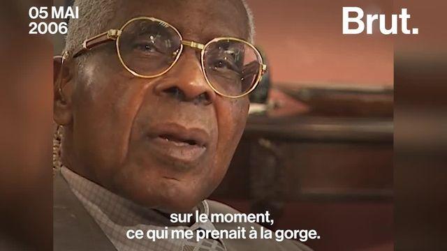 """Quand Aimé Césaire parlait du mot """"nègre"""" à la télévision. C'était en 2006."""