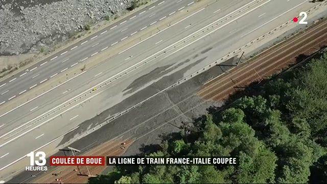 Savoie : une coulée de boue coupe la ligne Paris-Milan