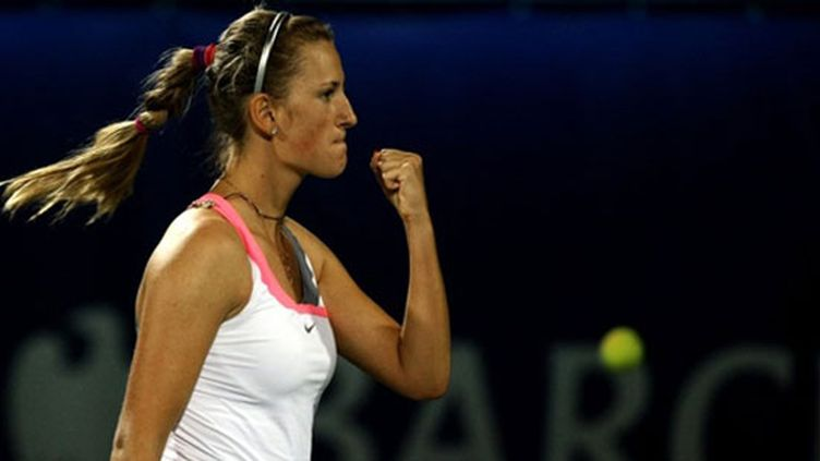 La Russe Victoria Azarenka victorieuse