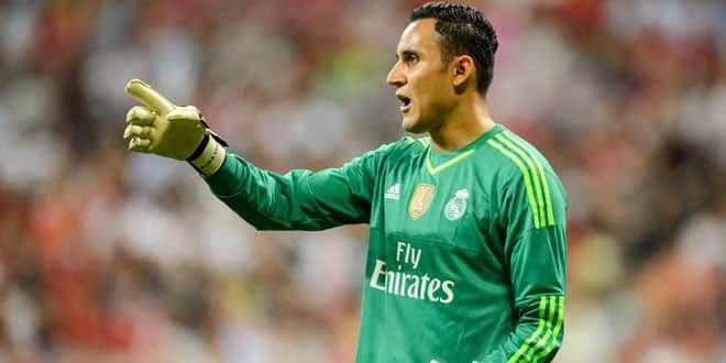Le gardien du Real Madrid, Keylor Navas