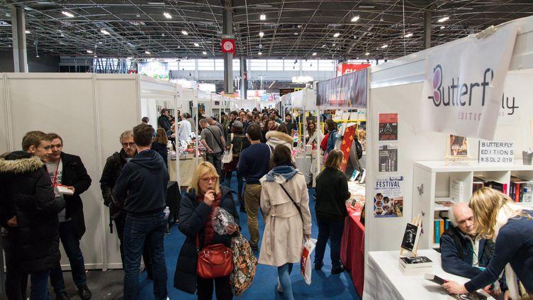 Salon Livre Paris, 39e édition, mars 2029, Porte de Versailles à Paris (RICCARDO MILANI / HANS LUCAS)