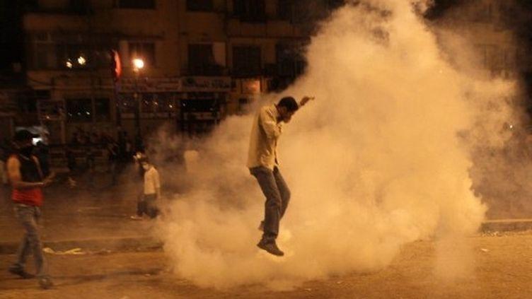 Affrontements place Tahrir au Caire (29 juin 2011) (AFP / Khaled Desouki)