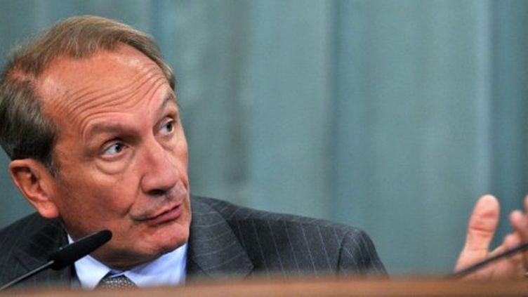 Le ministre de la Défense Gérard Longuet le 7 septembre 2011 (AFP - Yuri KABODNOV)