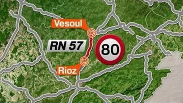 La réduction de la vitesse sur les routes fait polémique