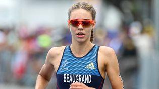 Cassandre Beaugrand avait terminé 30e des Jeux de Rio, le 20 août 2016. (THIERRY DEKETELAERE / DPPI / AFP)