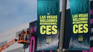 Le salon mondial de l'électronique, le CES, ouvre ses portes le 6 janvier 2015 à Las Vegas (Nevada, Etats-Unis). (BRITTA PEDERSEN / DPA)