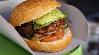 Illustration d'un hamburger (FRANZ MARC FREI / GETTY IMAGES)