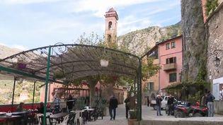 Tempête Alex : dans les Alpes-Maritimes, le village de Saorge revient peu à peu à la vie (FRANCEINFO)