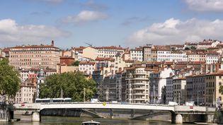 Le prêtre Jérôme Billioud officiait dans l'ensemble paroissiale La Croix Rousse, à Lyon (Rhône). (PHILIPPE MERLE / AFP)