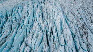 Le glacier Skaftafelljökull,en Islande, le 16 mai 2005. (Photo d'illustration) (MICHAEL PORTILLO / ONLY WORLD / AFP)