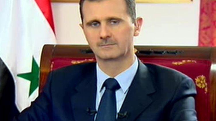 Bachar Al-Assad, 13/07/2008 (© France 2)