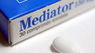 """Le parquet a annoncé avoir requis un renvoi du groupe pharmaceutique Servier pour """"tromperie aggravée, escroquerie, blessures et homicides involontaires et trafic d'influence"""". (FRED TANNEAU / AFP)"""
