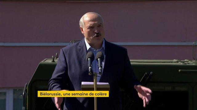 Biélorussie : un face-à-face édifiant entre Loukachenko et des ouvriers en colère