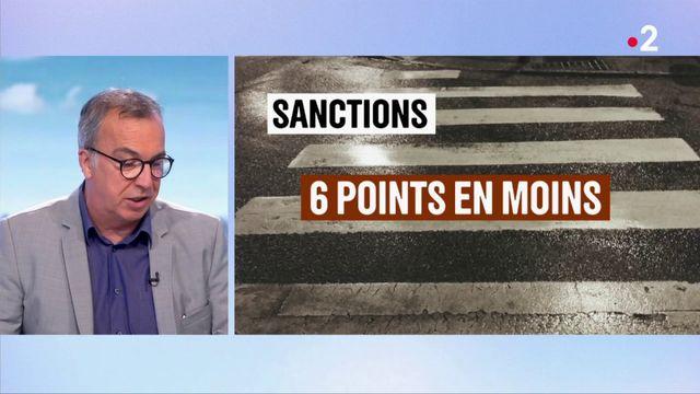 Sécurité routière : des sanctions renforcées pour protéger les piétons