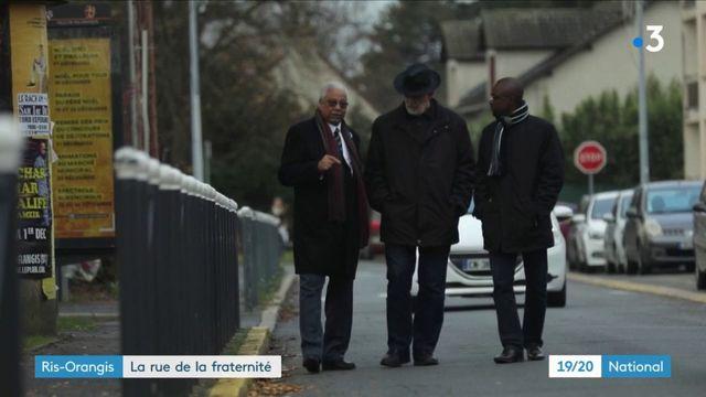 Ris-Orangis : la rue de la fraternité