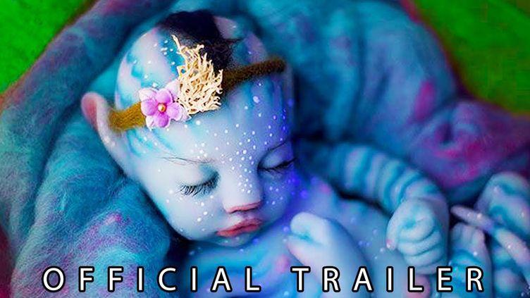 """Vidéo postée sur YouTube se présentant comme la bande-annonce officielle d'""""Avatar 2"""". (CAPTURE D'ÉCRAN)"""