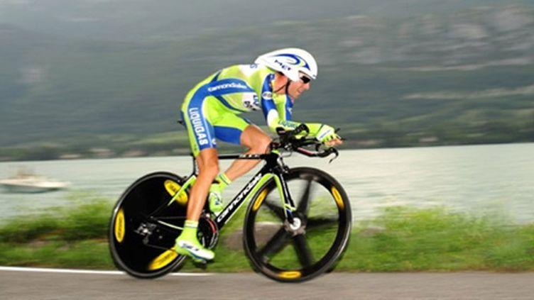 Vicenzo Nibali en contre-la-montre