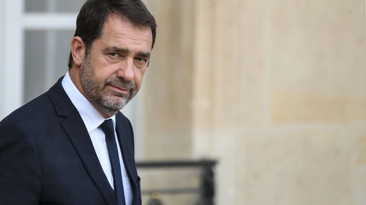 Christophe Castaner, ministre de l'Intérieur, à l'Elysée, le 7 novembre 2019. (ALAIN JOCARD / AFP)