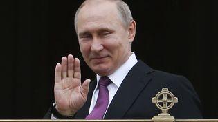 Le président russe, Vladimir Poutine à Moscou, le 25 mai 2017. (SERGEI KARPUKHIN / POOL)