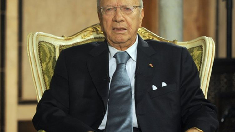 Le premier ministre tunisien, Beji Caid Essebsi (8-5-2011) (AFP - FETHI BELAID)