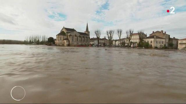 Inondations : la Garonne envahit plusieurs communes du Sud-Ouest