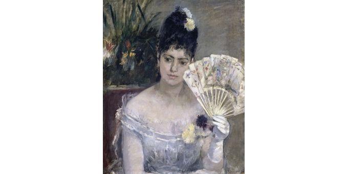 Jeune fille au bal - Berthe Morisot (1875)  (Coll-Peter Willi/SUPERSTOCK/SIPA)