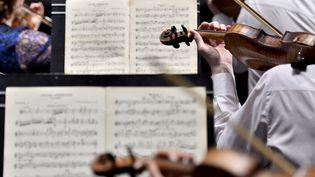 Répétition de l'orchestre philharmonique de l'Oural pour la Folle journée de Nantes le 31 janvier 2018 (archives)  (Loïc Venance / AFP)